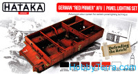 "Set of paints. German ""Red Primer"" AFV 