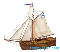 "Russian boat ""St. Gabriel"", 1728, wooden kit"