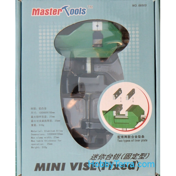 Master Tools  08503 Mini Vise (Fixed)