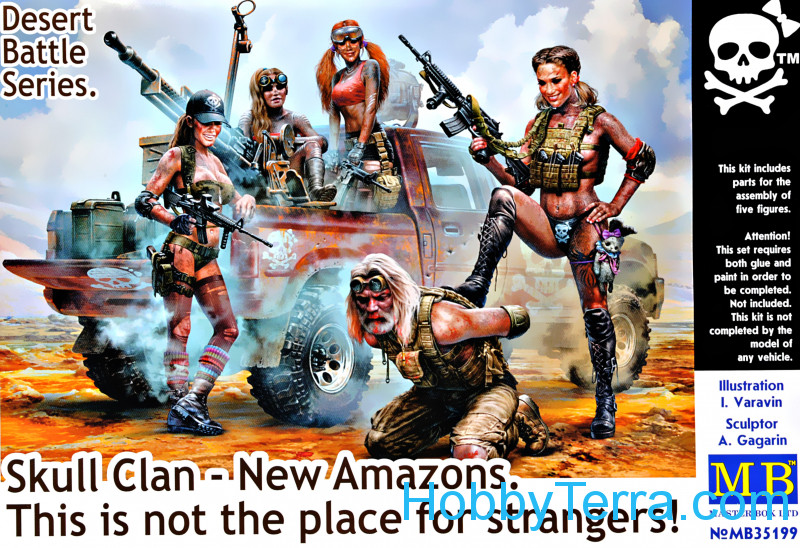 Master Box  35199 Skull Clan - New Amazons. This is not the place for strangers!