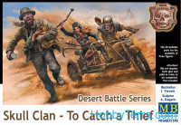Desert Battle Series, Skull Clan - To Catch a Thief. The kit doesn't contain a motorcycle