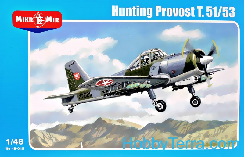 Micro-Mir  48-015 Hunting Provost T.51/53 (armed version)