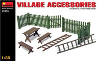 Village accessories (made of Plastic)