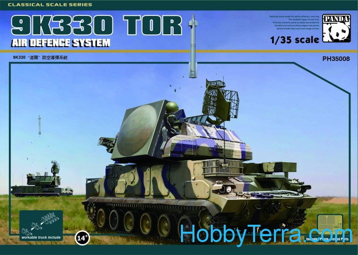 Panda  PH35008 Air Defence System 9K330 TOR