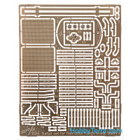 Photo-etched set 1/35 for GAZ-AAA cargo truck