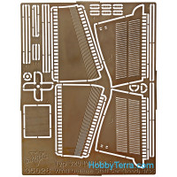 Photo-etched set 1/35 MB typ 320 (W142) (hood), for ICM kit