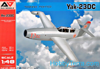 "Yak-23 DC ""Dubla Comanda"" training fighter"