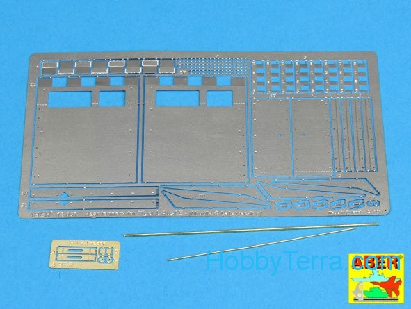 Rear fenders for Tiger I, Ausf.E, late version, for Hobby Boss