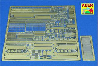 Photo-etched set 1/35 for T-34/85
