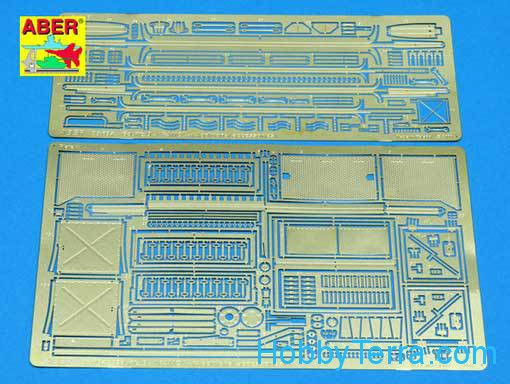 Photo-etched set 1/35 for Sd.Kfz.9 Famo vol 2, additional set