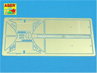 1/35 Rear small fuel tanks for T-34/76 tank