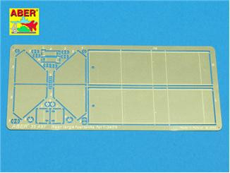 1:35 Rear large fuel tanks for T-34/76 tank