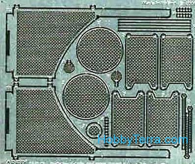 Grilles for Sd.Kfz.182 King Tiger (Henshel Turret), Dragon