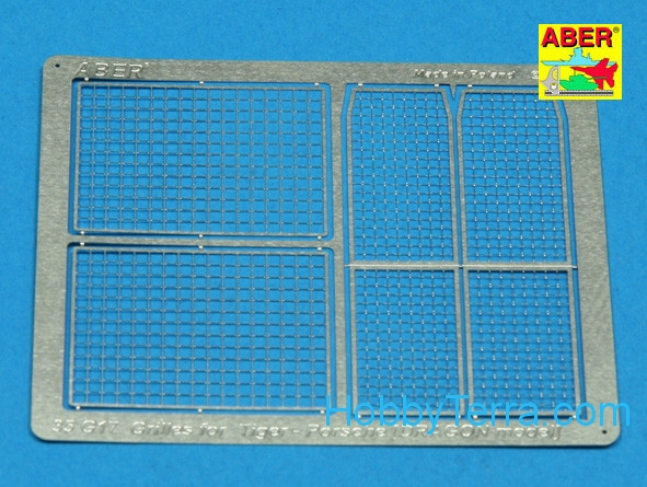 Aber  35 G17 Grilles for Tiger Porshe, Dragon