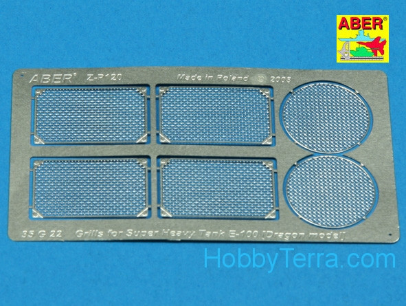 Grilles for german Super Heavy tank E-100