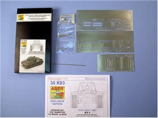 Detailing set 1/35 for Finnish Army KV-1, for Trumpeter kit