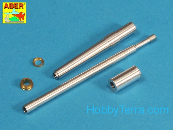 Israeli 105mm M-68 tank barrel for TIRAN 5 (variant B), for Tamiya