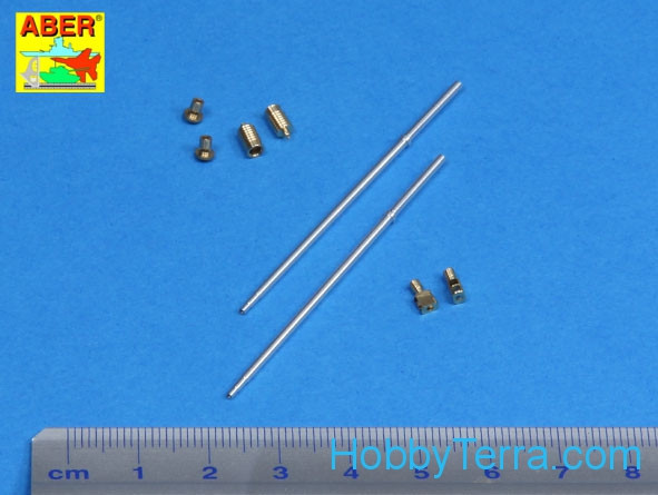 "Set of barrels for BMPT ""Terminator"" 2 x 2A45 mm, 2 x AGS-17 30mm, for Meng"