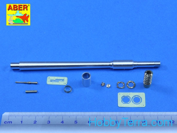 Weapons for T10-M tank 1x122mm M62-T2, 1x14,5cm KPVT, for Meng kit
