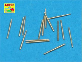 Aber  350-L15 Set of 16 pcs 37 mm L/83 barrels SK C/30 for German ships
