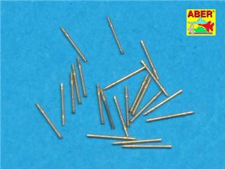 Set of 20 pcs 20 mm L/65 barrels C/38 for German ships
