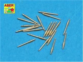 Set of 20 pcs 40 mm Bofors Mk.1 barrels for US Navy ships