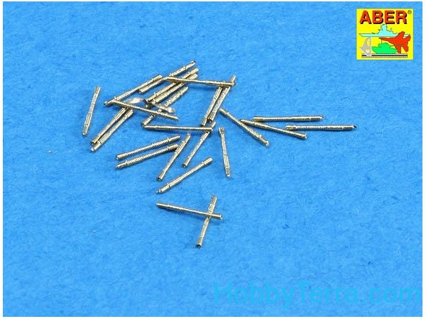 Set of 20 pcs 13mm type 93 AA barrels for Japan Navy ships