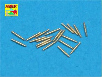 Aber  350-L32 Set of 20 pcs 0,5in (12,7mm) Vickers Mk.III machine gun barrels for Royal Navy ships