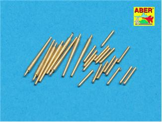 Aber  350-L37 Set of 8 pcs 127 mm L40 type 89 A/A lbarrels with recoil cylinders used on Japan ships