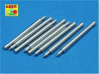 Set of 8 pcs 380mm short barrels for ships Richeulieu, Jean Bart