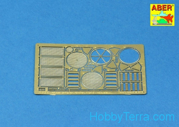 Grilles for Sd.Kfz.171 Panther, Ausf.G, late, for Tamiya kit