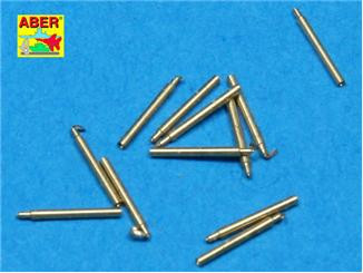 Set of 12 pcs 140 mm barrels for ship Hood