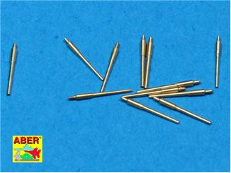 Aber  700-L15 Set of 12 pcs 150 mm barrels for German ships : Bismarck, Tirpitz, Scharnhorst, Gneisena