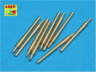 Set of 9 pcs 406 mm barrels for ships: Nelson, Rodney