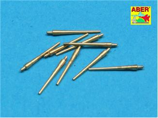 Aber  700-L25 Set of 9 pcs 203 mm barrels for USN ships : San Francisco, Tuscaloosa type