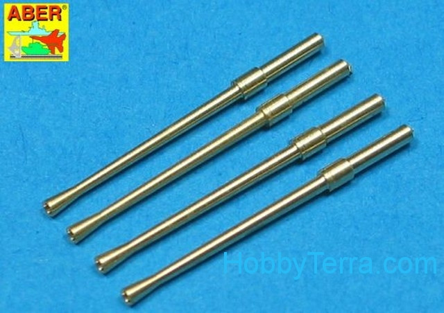 Aber  A32 014 Set of 4 barrels for Japanese 20 mm Type 99 aircraft machine cannons