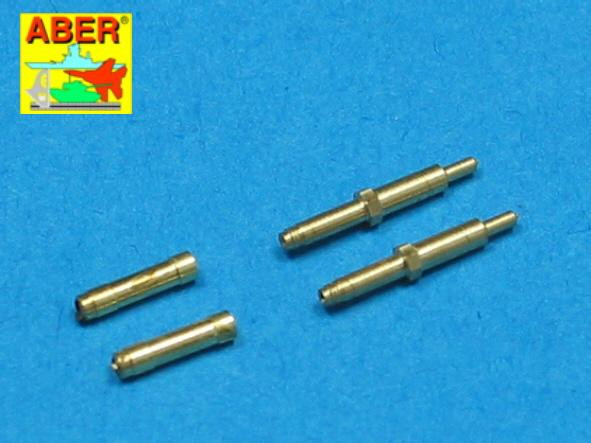 Aber  A48-010 Set of 2 barrels for German aircraft 30mm machine cannons MK 108