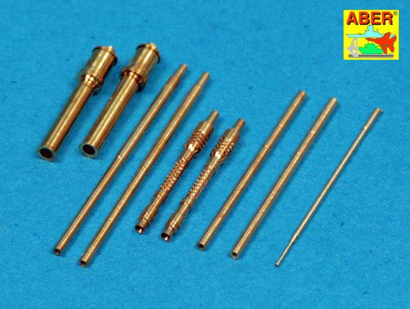 Armament for German Focke-Wulf Fw 190 A-7 up to A-10&D-9 2x MG 131:4xMG 151: pitot tube