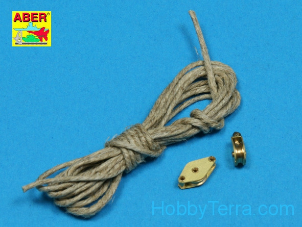 1:35 scale All-purpose single Pulley, 2pcs