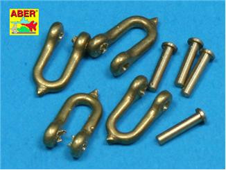 Early model shackle for Pz.Kpfw.VI Tiger Ausf B x 4 pcs