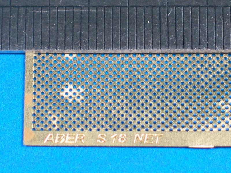 Drilled net 1,0 mm