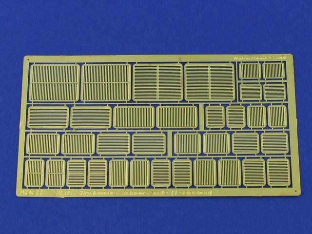Ship louvers various scale (1 selection)