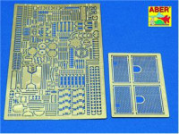 Photo-etched set 1/35 for Tiger I Ausf.E