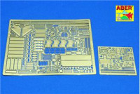 Photo-etched set 1/35 for Sherman M4, M4A1, M4A3