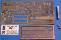Photo-etched set 1/35 for KV-1 Vol.1 - basic set, for Trumpeter kit