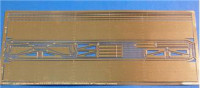 Photo-etched set 1/35 for KV-1 Vol.2 Fenders - early model, for Trumpeter kit