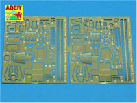 Photo-etched set 1/35 Browning M2 (Modern)