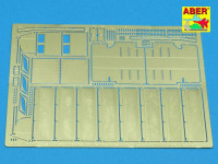 Photo-etched set 1/35 side fenders for Tiger I H1 (Afrika Korps)