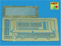 T-34 grille cover, for Dragon model