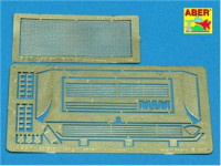 T-34 grille cover, for Tamiya model